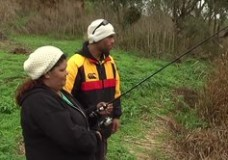 Framlingham Fishing Story screens during NAIDOC week