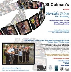 Mortlake Shines Film Screening